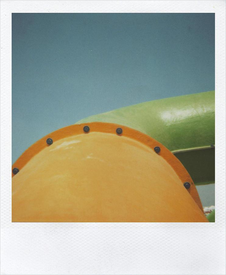 Polaroid Photograph - Playground 5 by Alex Conu