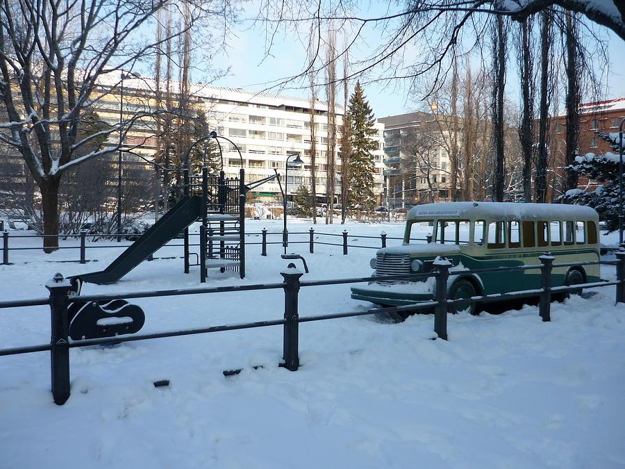 Playground Photograph - Playground by AK Art
