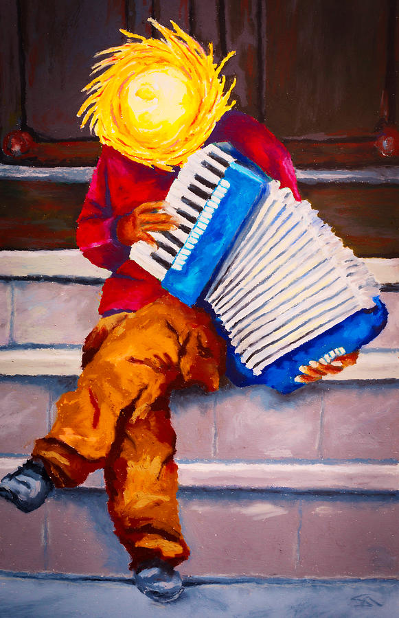 Playin For Free Painting