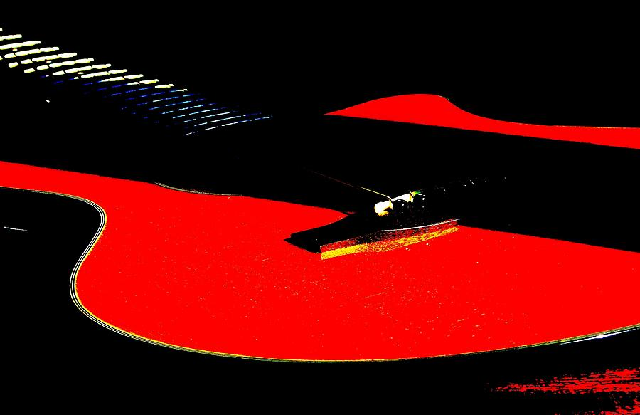 Sigma Photograph - The Sigma In Red by Angela Davies