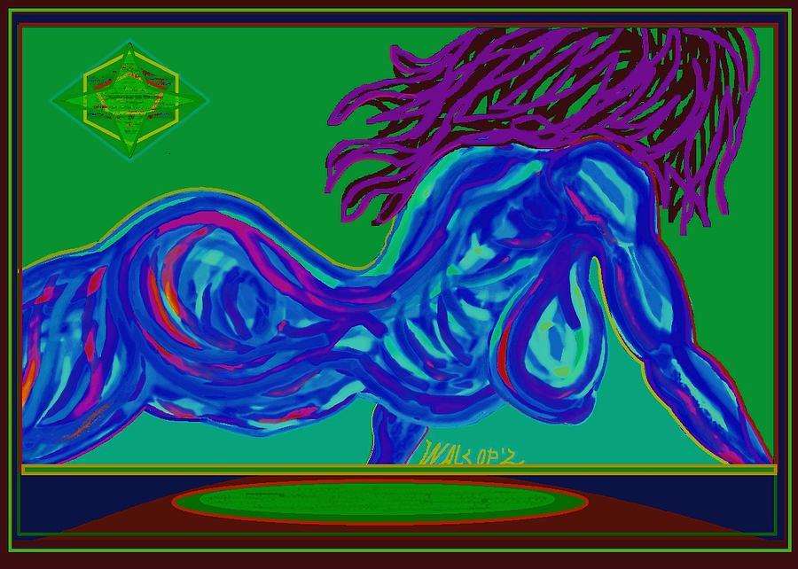 Playmate Jaque Digital Art by Walcopz Valencia