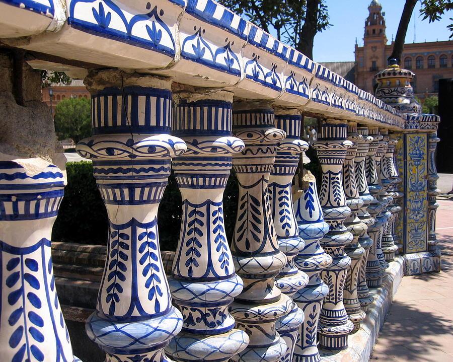 Spain Photograph - Plaza De Espana by Lindsey Orlando