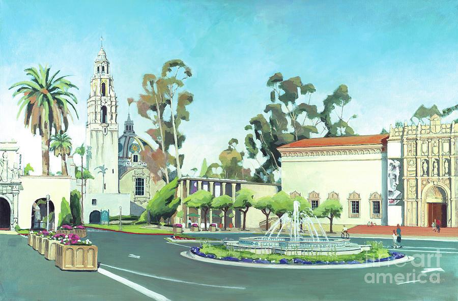 Balboa Park San Diego California by Paul Strahm