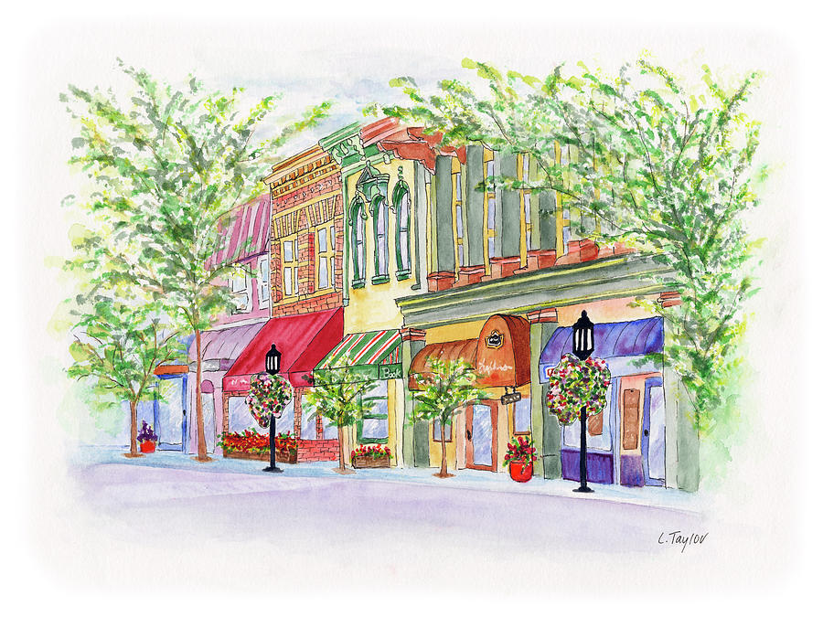Plaza Shops by Lori Taylor