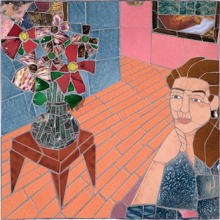 Mosaic Relief - Pleasant Thoughts by Jonathan Mandell