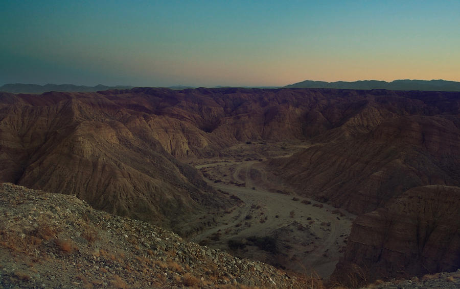 Borrego Badlands Photograph - Please Stay Just A Little Bit Longer by Laurie Search