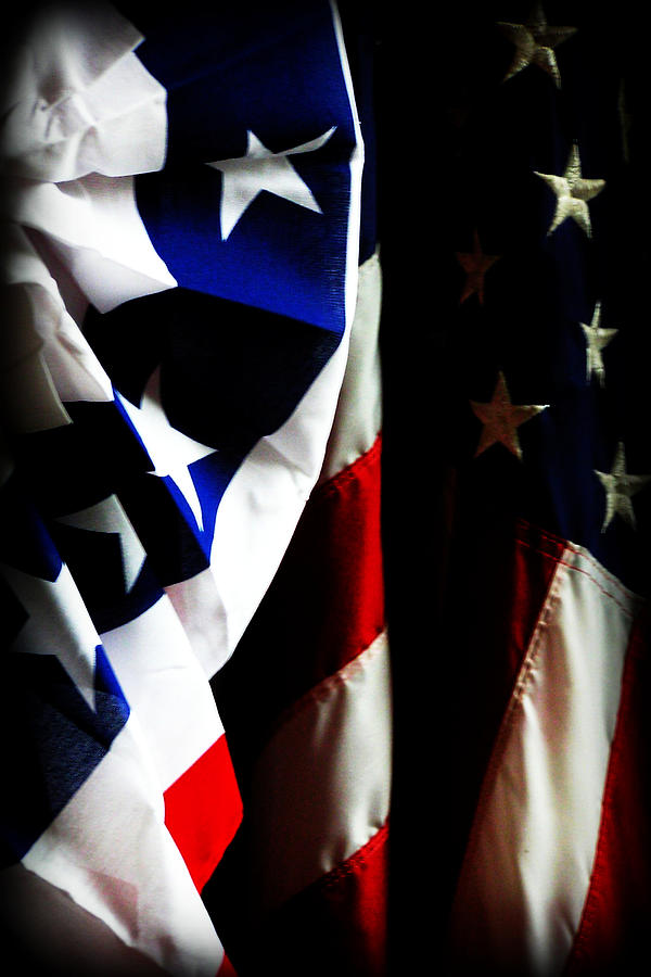 Flag Photograph - Pledge To The Usa by Susie Weaver