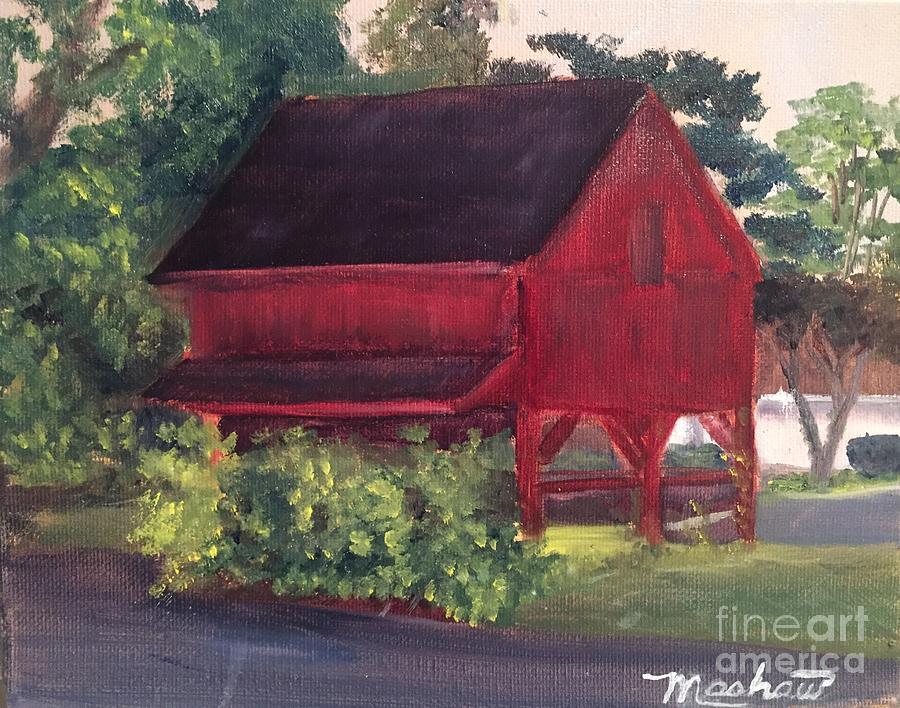 Medford Painting - Plein Aire 7-12-16 by Sheila Mashaw