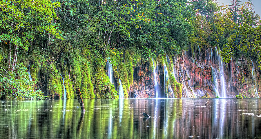 Plitvice Lakes by Peter Kennett