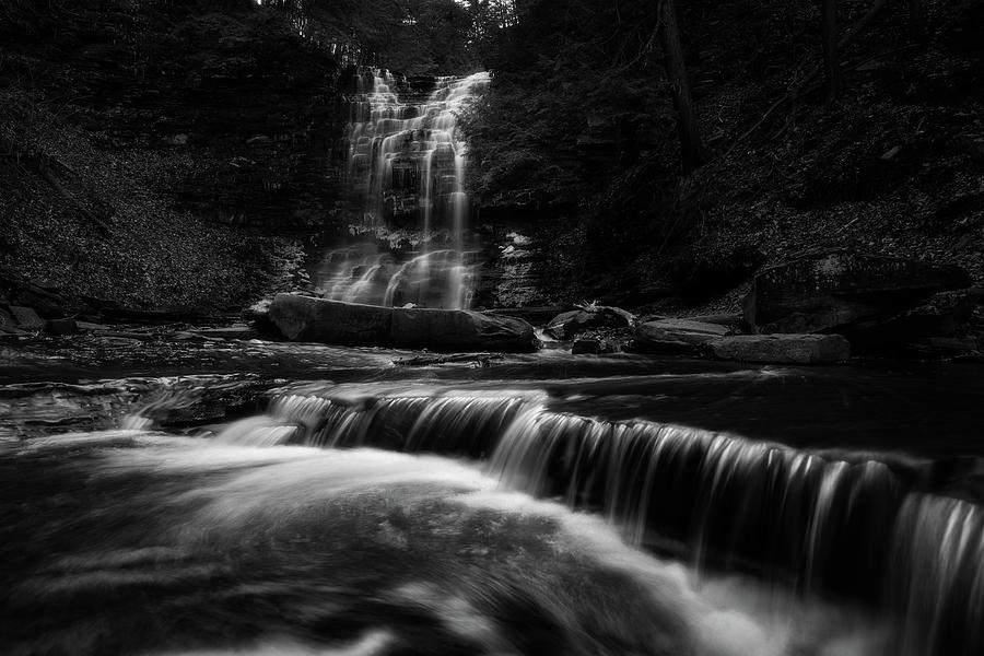 Plotter Kill Falls by Brad Wenskoski