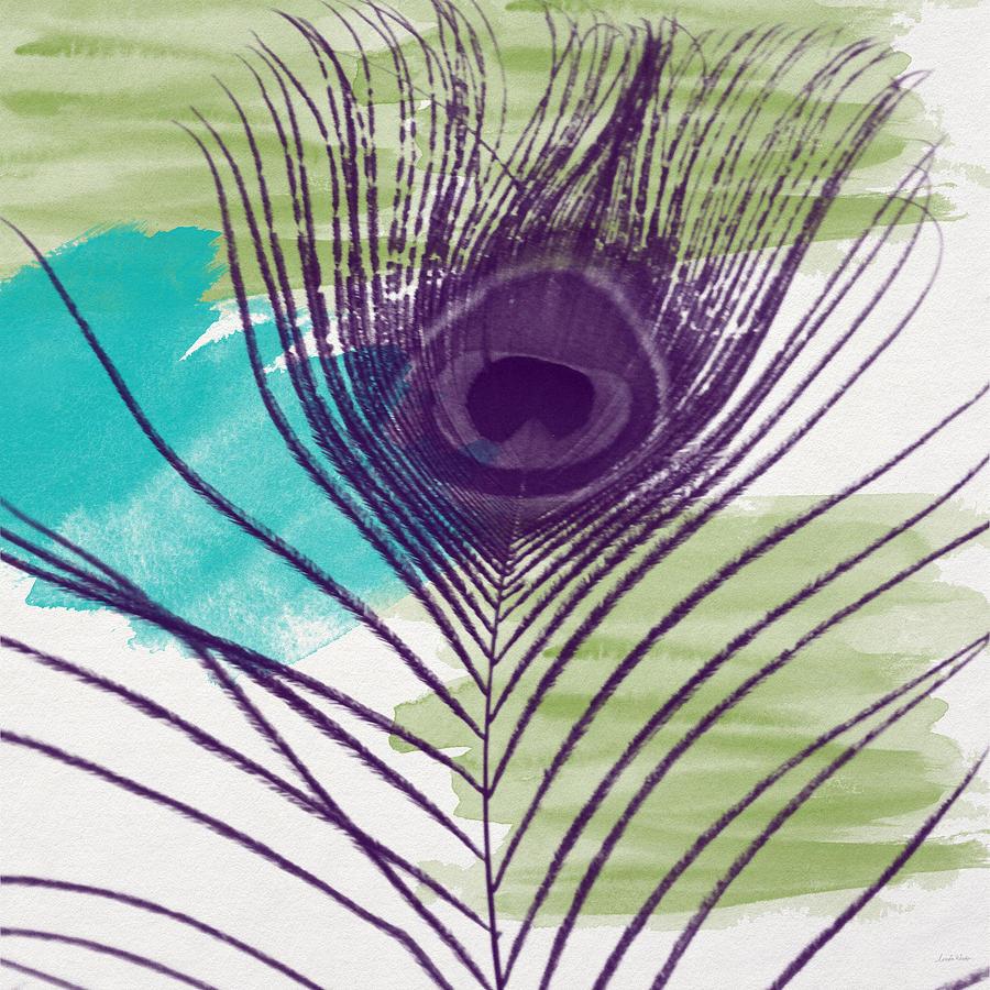 Plumage 2-art By Linda Woods Painting