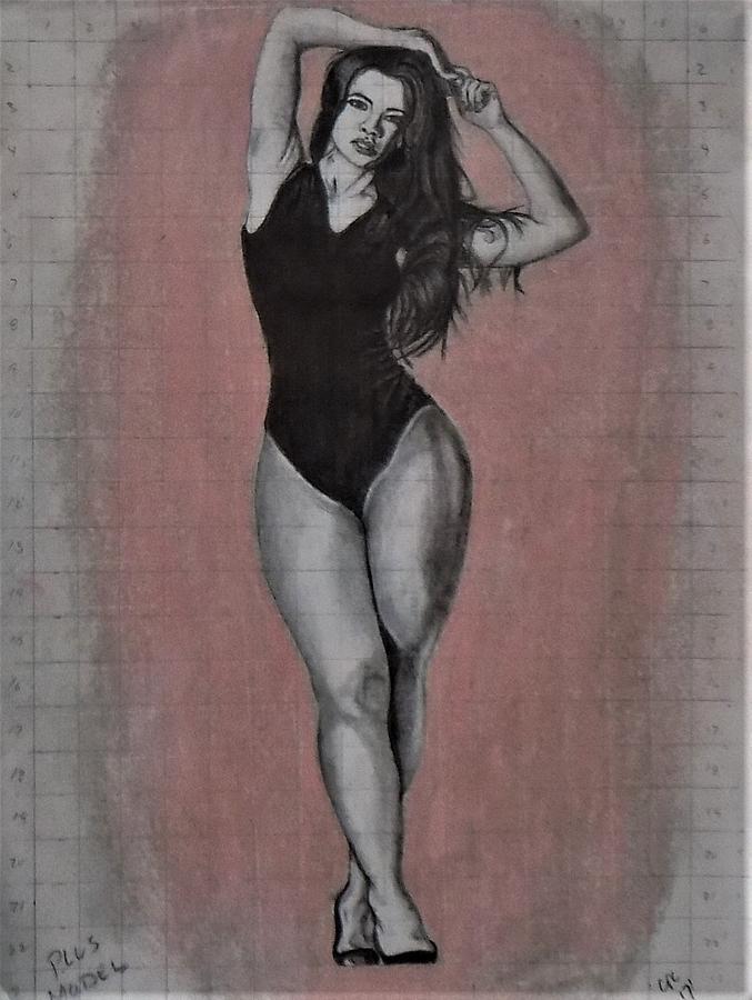 plus model by Chuck Caputo