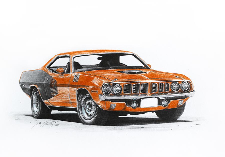 Plymouth Barracuda 1973 Hemi Cuda