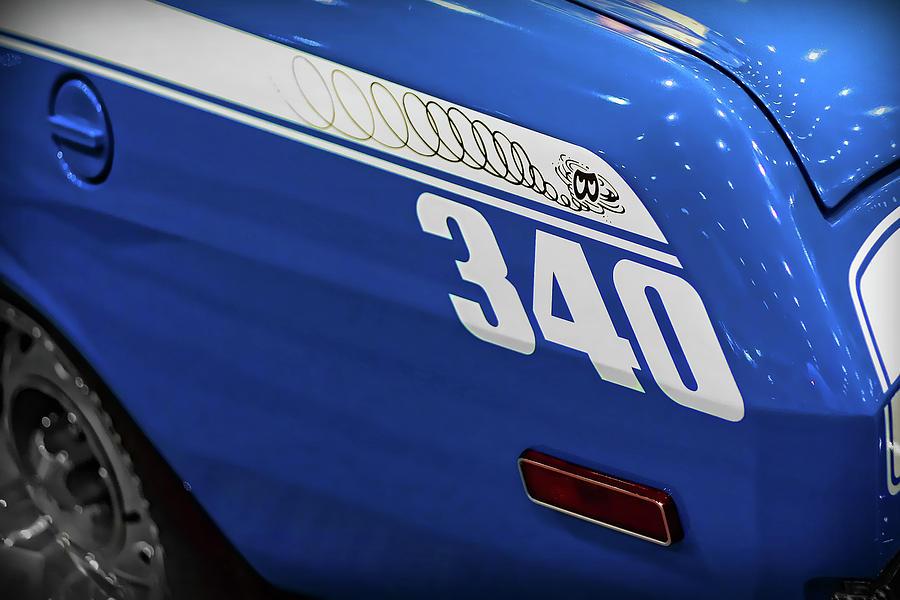 1970 Photograph - Plymouth Duster 340 by Gordon Dean II