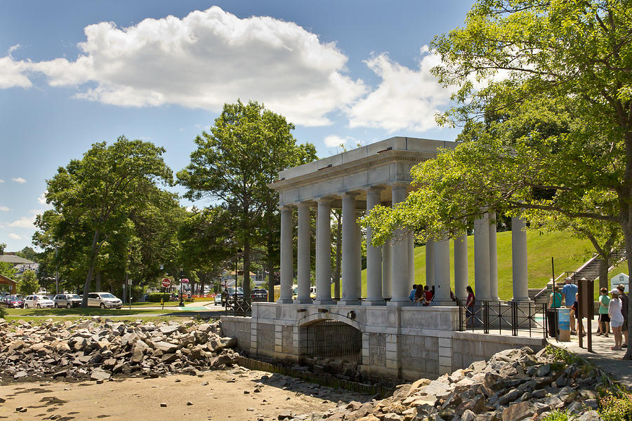 rock plymouth monument wayne photograph massachusetts 27th uploaded august which