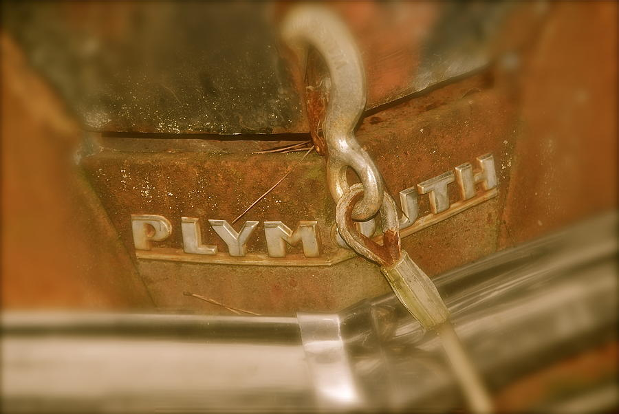 Car Photograph - Plymouth by Sharrell Holcomb