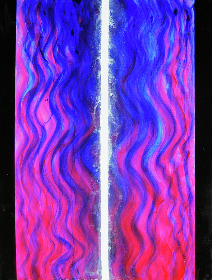 Abstract Painting - Pneuma Flow by Tom Hefko