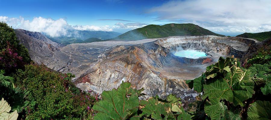 Horizontal Photograph - Poas Volcano by Kryssia Campos