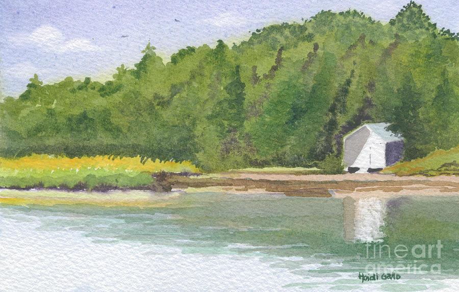 Pochet Island Boat House by Heidi Gallo