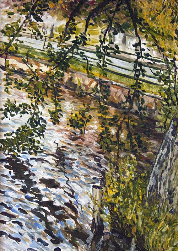 Landscape Painting - Pod Modrou Oblohou by Pablo de Choros