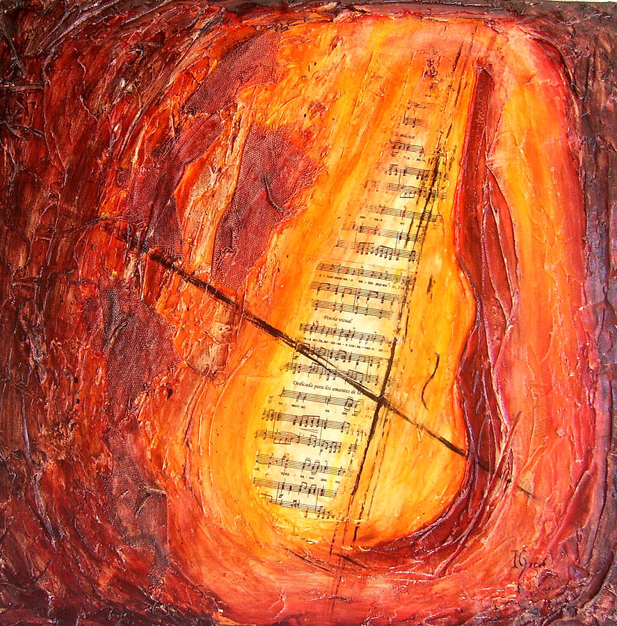 Music Painting - Poesial Visual by Ivan Guaderrama