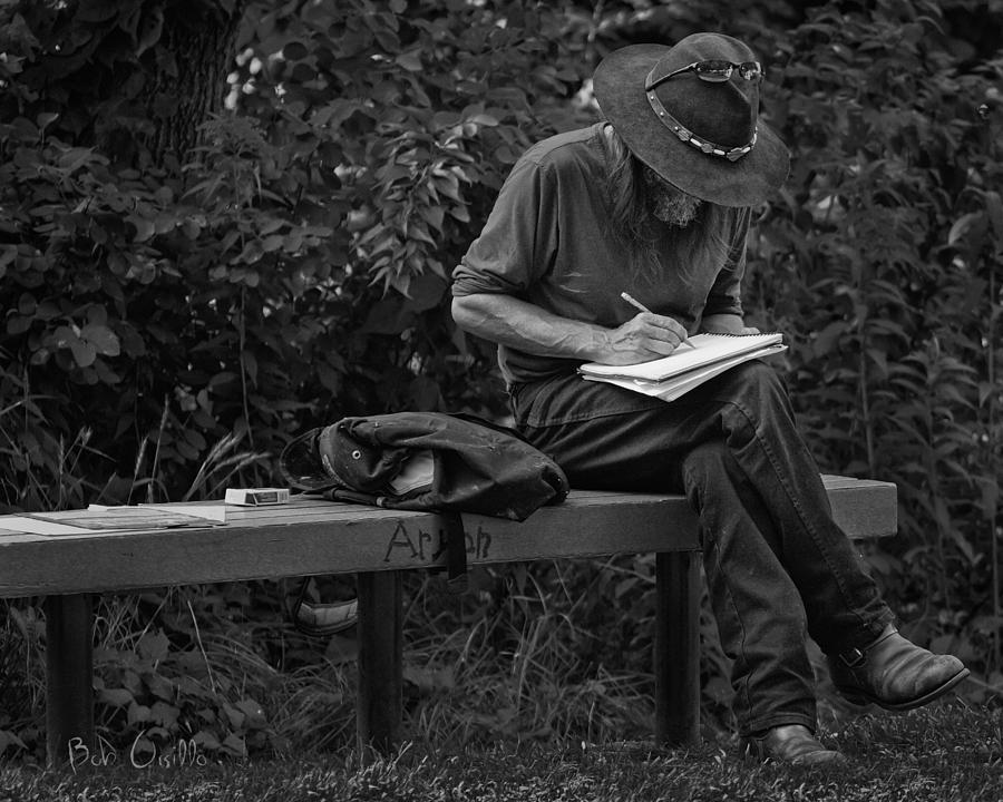 poet photograph by bob orsillo