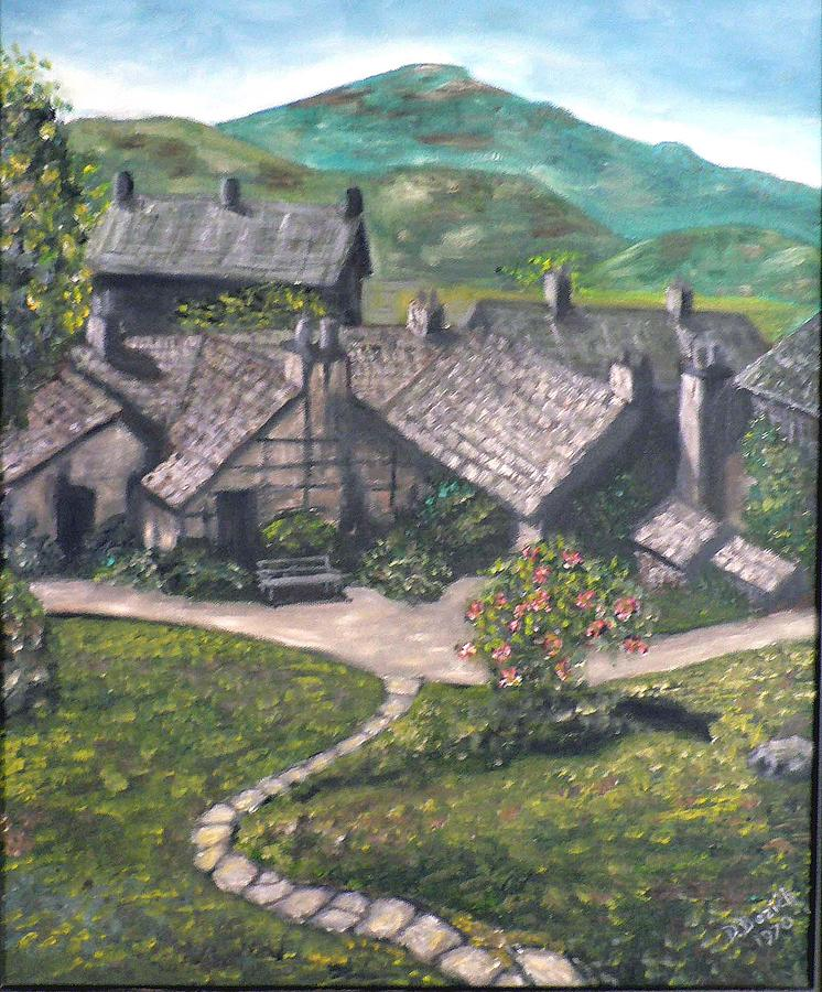 Countryside Painting - Poet by Dan Bozich