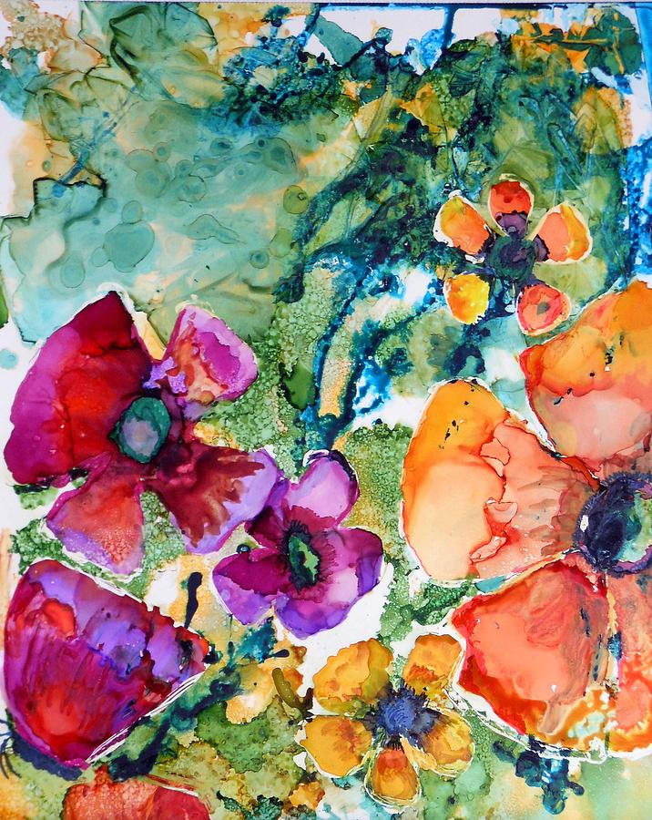 Poetry of Petals by Pam Halliburton