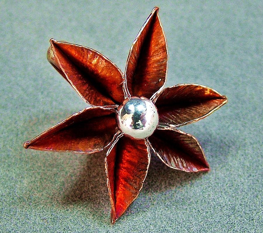 Poinsettia Jewelry - Poinsettia Flower  by Stan Mowatt