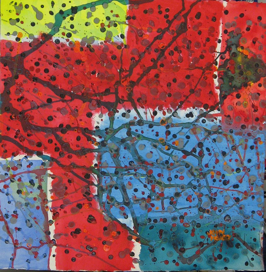 Abstract Painting - Point And Figure by John Honey