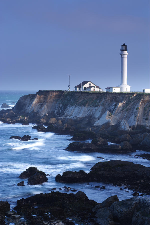 California Photograph - Point Arena by Eric Foltz