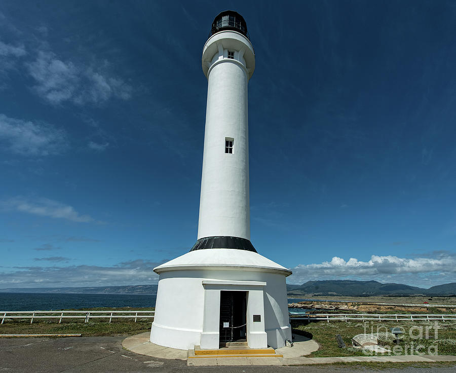 Point Arena Lighthouse Photograph - Point Arena Lighthouse  by David Oppenheimer