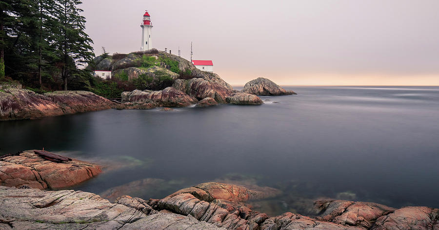 Architecture Photograph - Point Atkinson Lighthouse by Windy Corduroy