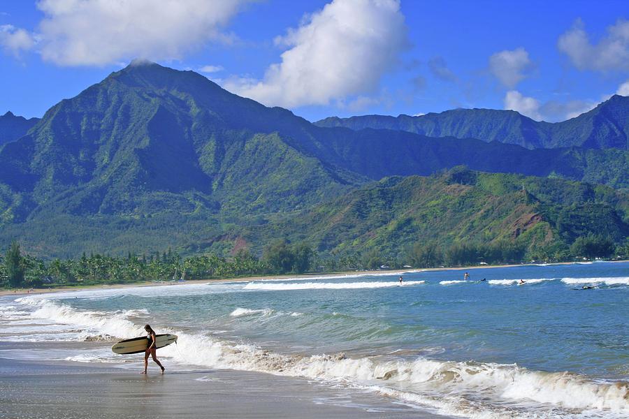 Surfer Photograph - Point Break by Scott Mahon