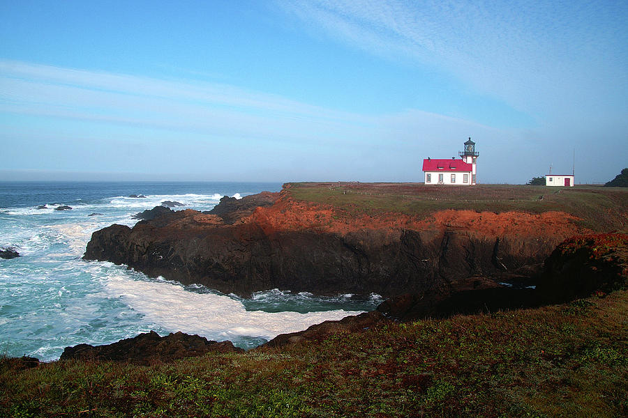 Point Cabrillo Light Station by David Armentrout
