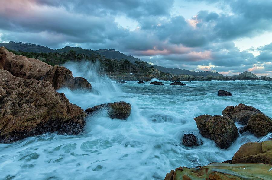 Point Lobos Coastline Photograph