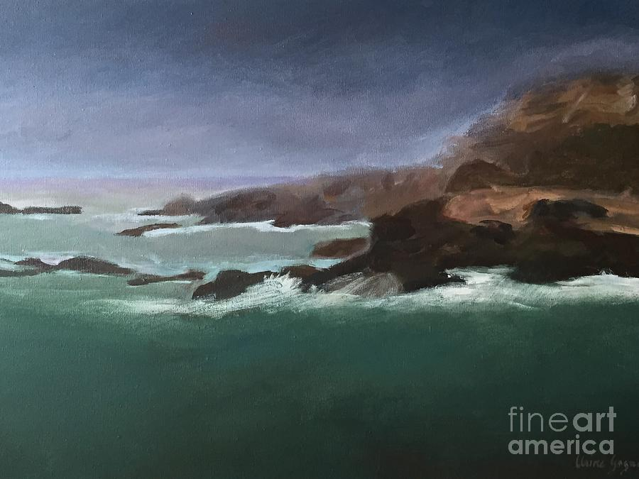 Point Lobos Monterey by Claire Gagnon