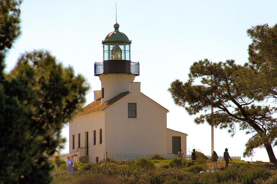 San Diego Photograph - Point Loma Lighthouse by Bill Mollet
