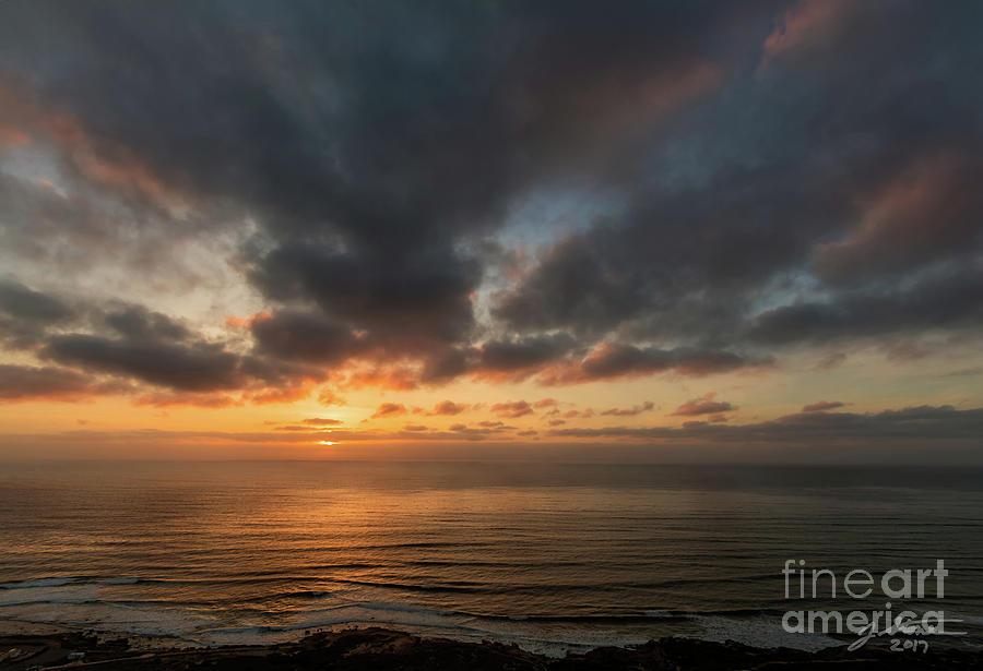 Point Loma Sunset 2 Photograph by Jeffrey Stone