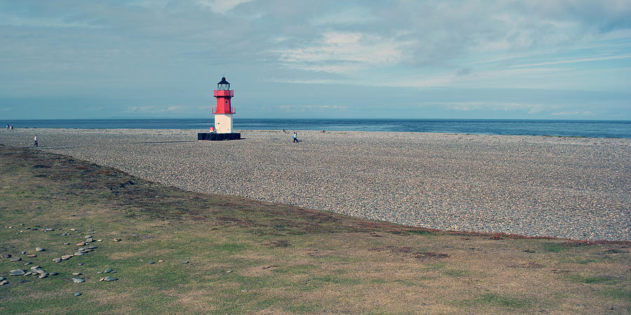 Lighthouse Photograph - Point Of Ayre by Steve Watson
