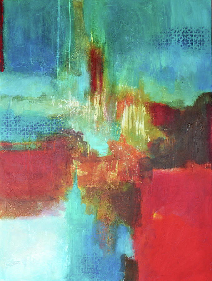 Abstract Painting - Point Of View by Filomena Booth