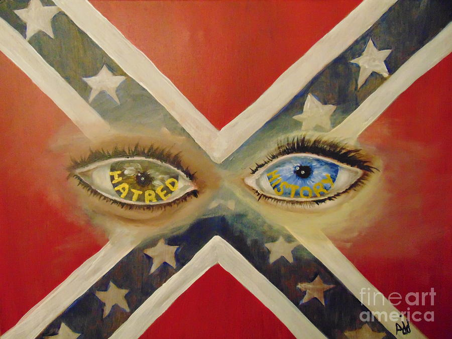 Eyes Painting - Point of View by Saundra Johnson
