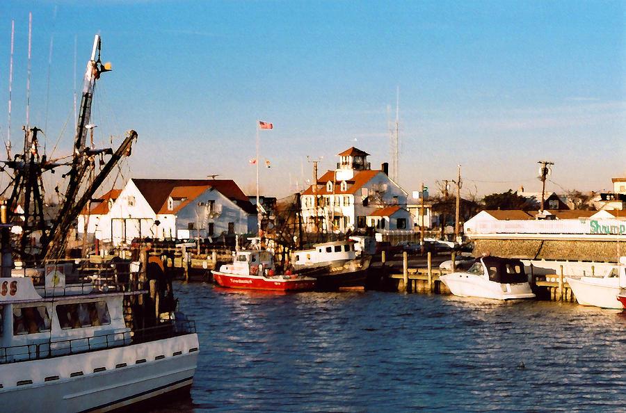 Point Pleasant Nj Marina Photograph
