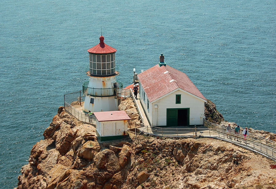 Point Reyes Lighthouse Photograph - Point Reyes Lighthouse II by Suzanne Gaff