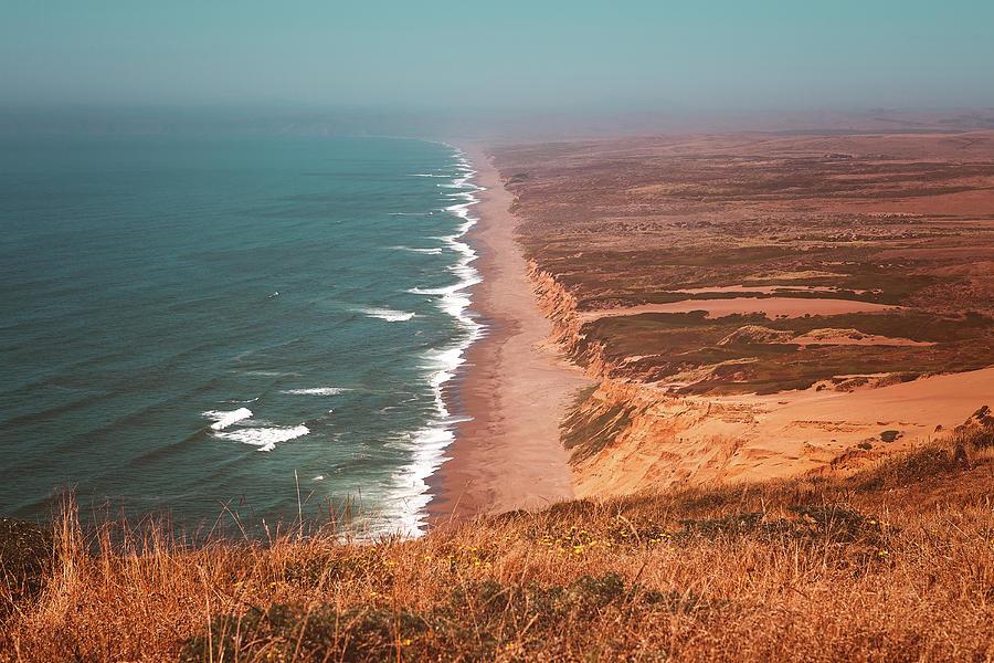 America Photograph - Point Reyes National Seashore by Marji Lang