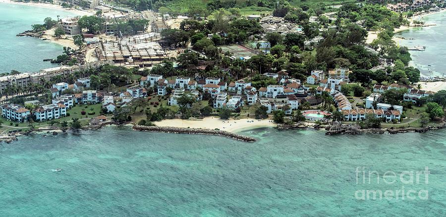 Point Village Resort In Jamaica Aerial Photo By David Oppenheimer