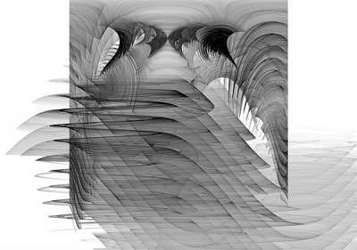 Chaos Theory Digital Art - Points In Motion by MEA Armstrong