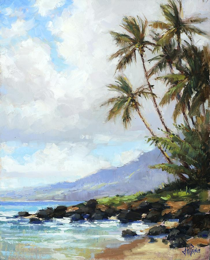 Poipu Painting - Poipu Palms by Jenifer Prince