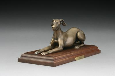 Dog Sculpture - Poised by Mary Driscoll
