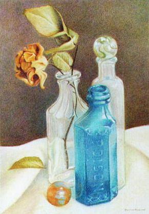 Colored Pencil Painting - Poison by Bonnie Haversat